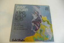 JIMMY McGRIFF LP A BAG FULL OF BLUES FEATURING MEL LEWIS RICHARD DAVIS IN SHRINK