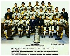 1971 - 72 Stanley Cup Champions Boston Bruins Team Pic 8 X 10 Photo Free Ship