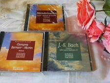 3CD musique classique ,bach,etc..