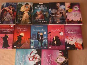 12 Liebesromane  Bücherpaket Frauenromane Fantasy  Feehan.Raye,Showalter,Ivy