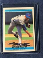 1992 Donruss NOLAN RYAN Baseball Card #707 Texas Rangers MINT Free Shipping!