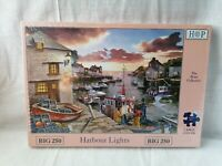 House of Puzzles - HOP - Big 250 Large Piece Jigsaw Puzzle - HARBOUR LIGHTS