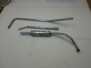 FRONT PIPE /& SILENCER BOX Morris Minor 1.0 Petrol Estate 10//1962 to 12//1971