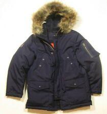 Polo Ralph Lauren Boys Full Zip Faux Fur Trimmed Down Parka Jacket
