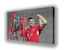 "Liverpool - Steven Gerrard - Wall Canvas 25""x16"" (63x40cm)"