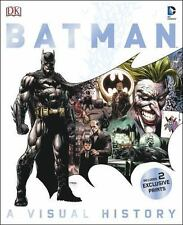 Batman : A Visual History by Matthew Manning (2014, Hardcover)