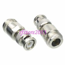 1pce Adapter Connector N female jack to BNC male plug for CCTV Cameras