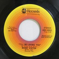 Pop 45 Bobby Vinton - I'Ll Be Loving You / My Melody Of Love On Abc Records