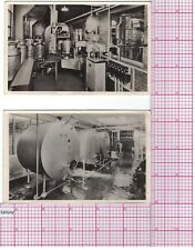 2 Postcards Borden's Home Dairy, Washer and Tank