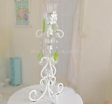 French Provincial Candle Holder White Candelabra Decoration Wedding Christmas