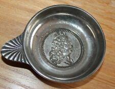 Taste vin en métal argenté a l effigie de  louis XVI