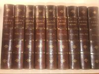 LEATHER Set;DIARY OF SAMUEL PEPYS!1902 Complete Library Antiquarian History Navy