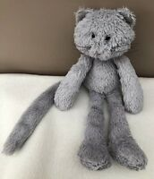 Jellycat Chimboo Kitten Cat Soft Toy Comforter Grey Plush Baby Soother Kitty