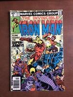 Iron Man #127 (1979) 7.5 VF Marvel Bronze Age Comic Book Newsstand Edition