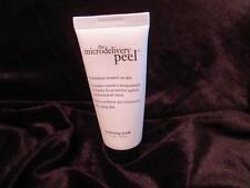 Philosophy Hydrating Gel Mask 1.3 oz  Micro Peel Travel Size 36.9g New Moisturiz