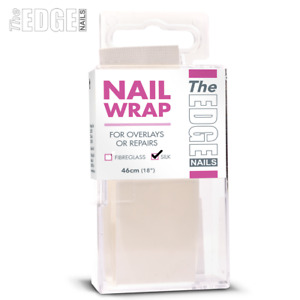 "The Edge Nails Silk Nail Strip 46cm 18"" Long For Overlays/Repairs Nail Wrap Tips"