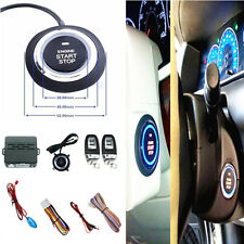 Auto Remote Alarm System Security Audible Ignition Engine Start Push Buttons C3
