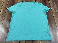 G-Star Raw Men's Light Green V-Neck T-Shirt - XL