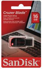 PENDRIVE 16GB Sandisk Cruzer Blade MEMORIA USB