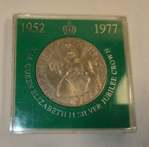 Vintage Collectable Coin Silver Jubilee 1977 LLoyds Bank - In Great Condition