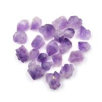 5x Natural Purple Fluorite Quartz Crystal Stone Rough Polished GravelSpecimenDD