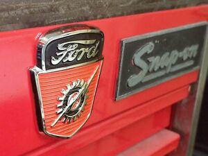53-56 Ford F-100/F600 Hood Emblem/Toolbox Magnets(D13)