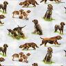 4 Motivservietten Servietten Napkins Tovaglioli Tiermotiv Hunde Jagdhunde (987)