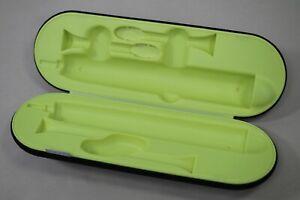 Genuine PHILIPS Sonicare DiamondClean HX9210 Charging Travel Case - BLACK/GREEN