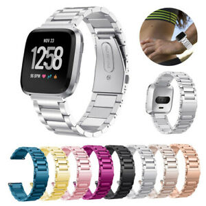 Metal Strap For Fitbit Versa / Versa 2/Lite Stainless Steel Watch Wrist Band