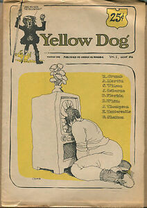 """Yellow Dog"" #6 - Underground/R. Crumb, Shelton - 1969 - (Grade VG+/F)WH"