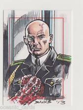 SGT FURY & HIS HOWLING COMMANDOS TRADING CARDS SKETCHAFEX CARD DARRYL BANKS