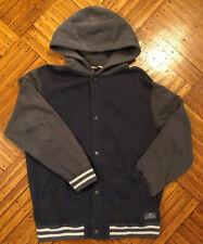 Vans Of The Wall Boys Blue & Gray Zip Up Hoodie Sweatshirt Jacket Size XL 16-18