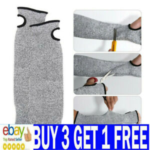 1 Pair Safety Protective Arm Sleeve Guard Cut Proof Anti Cut-Resistant Gloves ·