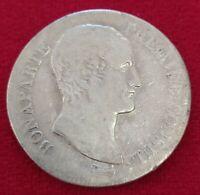 Moneda De 5 Francos Plata Napoleón Pimer Cónsul Año 12 A