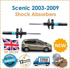 For Renault Scenic 2003-2009 2 Front Shock Absorbers Set Pair Shockers Dampers
