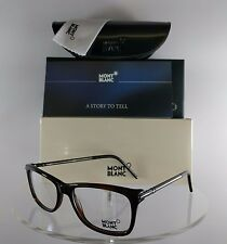 New Authentic MONT Blanc MB 439 056 Eyeglasses Tortoise MB439 Frame