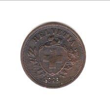 SUISSE RARE 1 RAPPEN 1883 BERNE   a saisir !!
