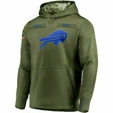 2018 Buffalo Bills Mens NFL Nike Salute to Service Hoodie (2XL)