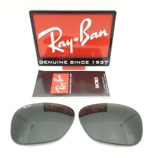 RAY BAN REPLACEMENT LENSES AVIATOR 4075 Green Polarized New Authentic