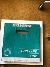 2 X Sylvania  Circular Fluorescent Tube T5 40W 40 Watt Round 840 COOL WHITE