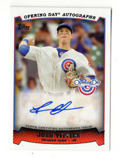 JOSH VITTERS MLB 2013 TOPPS OPENING DAY AUTOGRAPHS (CHICAGO CUBS)