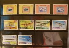 Anguilla Aircraft & Aviation Stamps Lot of 13 - MNH  - See Details for List