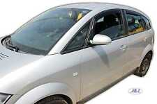 DAU10211 AUDI A2  2000-2005 wind deflectors 4pc set Internal Fit TINTED HEKO