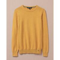 Crew Clothing Women's Foxy Crew Jumper - Marigold Yellow - RRP £49
