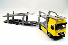 MAN F2000 CAMION PORTE VOITURE JAUNE - 1/43 NEW RAY NWR15623
