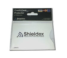 2pk RFID Blocking Shieldex Credit Card Protector Sleeve Anti Theft Scan Safe