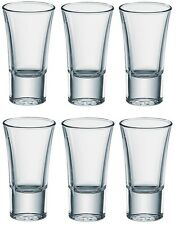 6x Borgonovo Senior Shot Vodka Glass 2 oz Shooter Glassware Drink Bar Pub Party