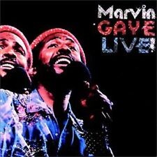 Marvin Gaye - Live [New CD]