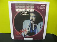 Richard Pryor Live in Concert Ced Video Disk