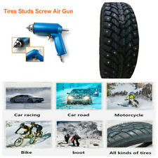 1000PCS Car Tires Studs Screw Snow Spikes Chains Studs Tire Nail + Air Gun Tool